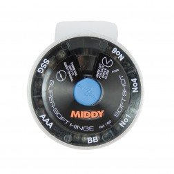 Middy Super-Soft Hinge Shot 6-Way Dispenser