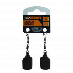 Middy Square Match Bombs 2pc 3/8oz (10g)