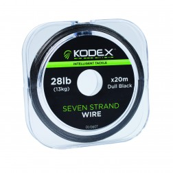 Kodex Black 7-Strand Wire (20m Spool)