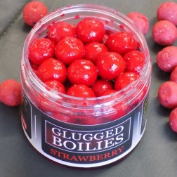 Strawberry Glugged Boilies 200g