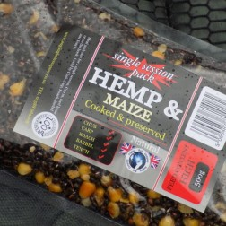 Cooked Hemp & Maize Single Session Pack 500g