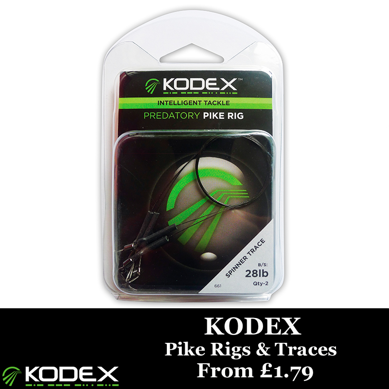 Kodex Pike Rigs & Traces